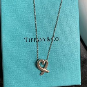 Tiffany & Co Paloma Picasso open heart necklace